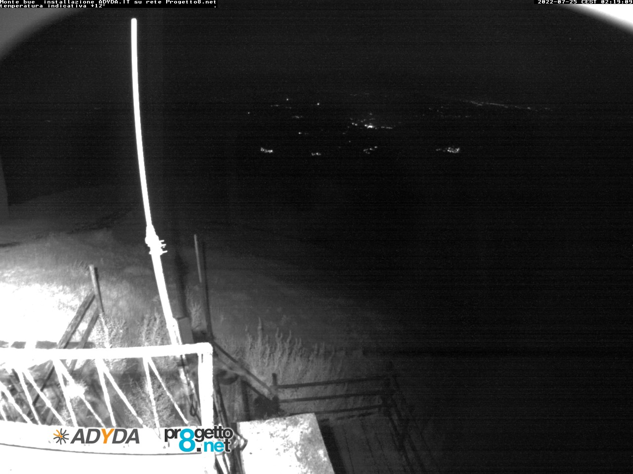 Webcam Monte Bue (GE)